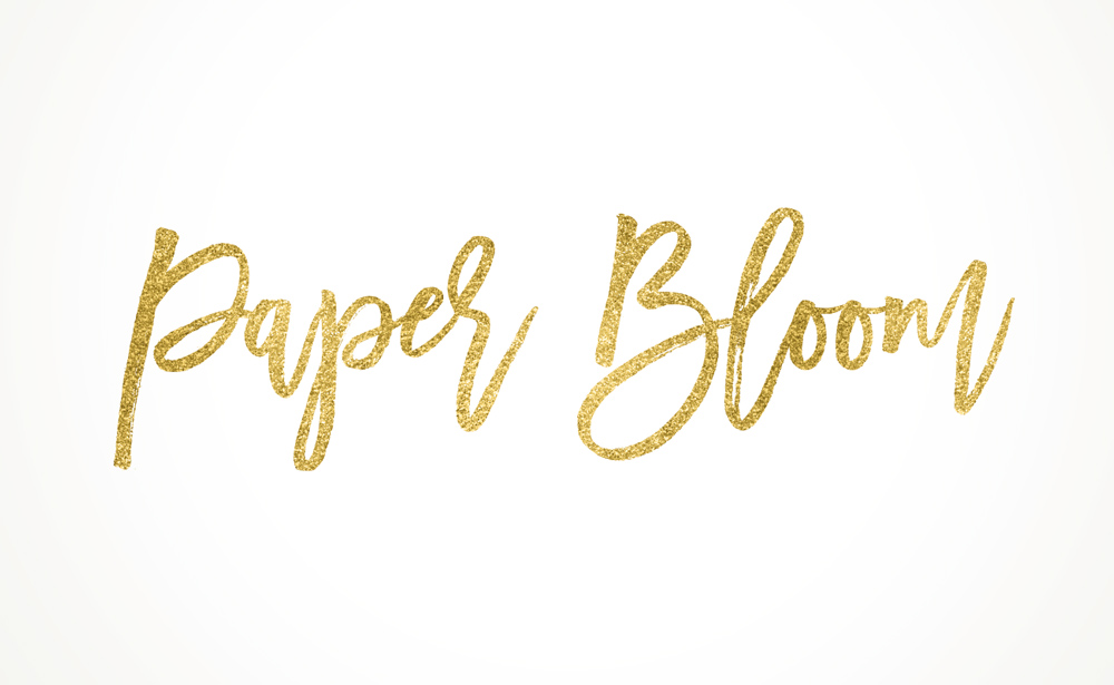 Paper Bloom Logo