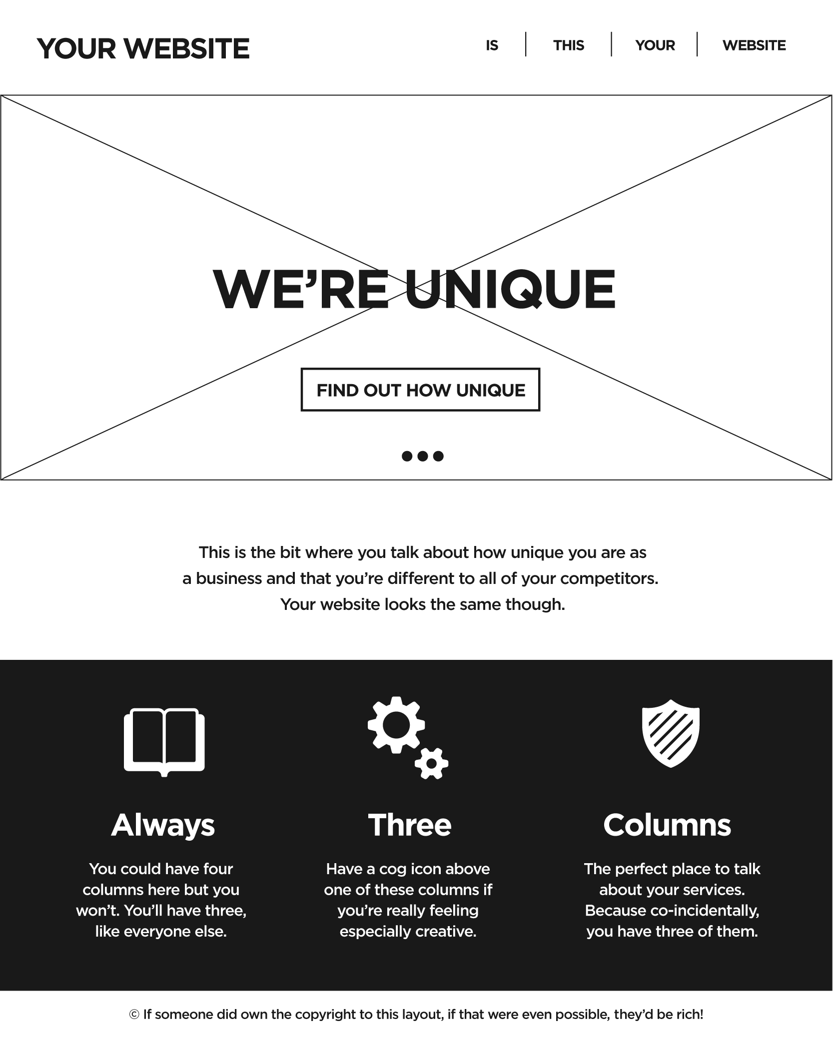 Generic Website Template