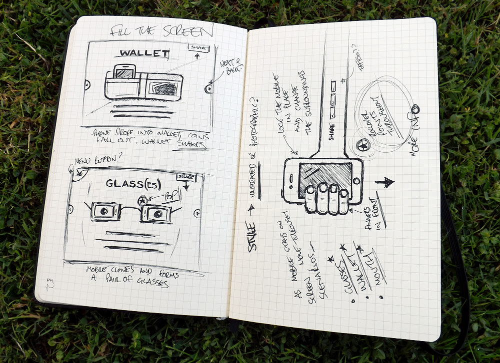 Website Sketches